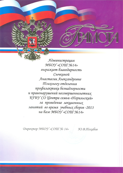 Сычкина А.А.. 2013-2 в5.